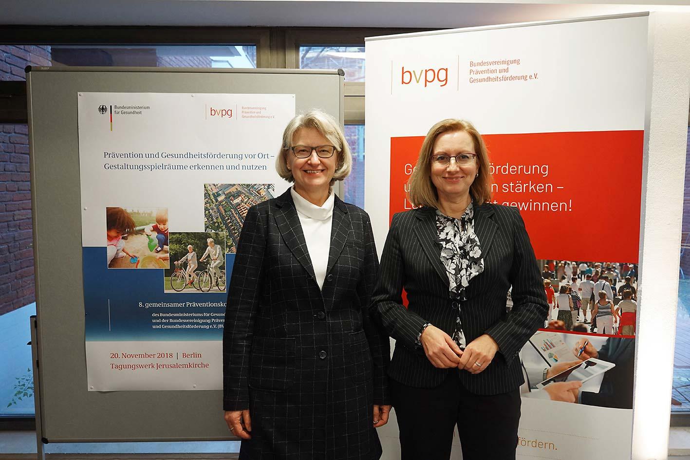 Dr. Heidrun Thaiss und Dr. Beate Grossmann